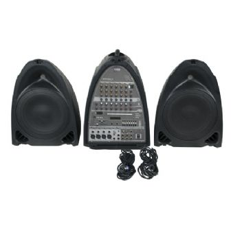 DAP-Audio Entertainer Mobile Set Pro All in One 2 x 150w Active PA System DSP Mic | Lighthouse Audiovisual UK